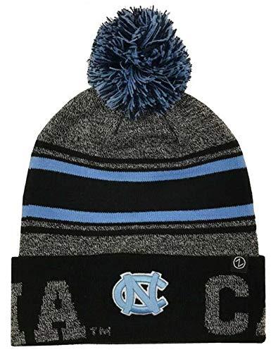 Zephyr Hats University of North Carolina UNC Orbit Knit Hat NCAA College Beanie