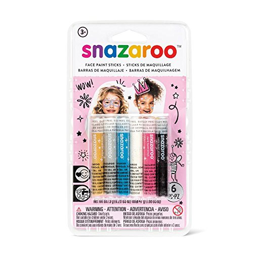 - Snazaroo Fantasy Face Paint Sticks - Set of 6
