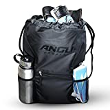 ANGU SPORTS Soccer Bag For Youth, Kids, Girls, Boys, Men & Women | Backpack for Soccer, Basketball, Football, Regular Gym Bag, Volleyball | Breathable Material Makes This Drawstring Perfect For Sport.