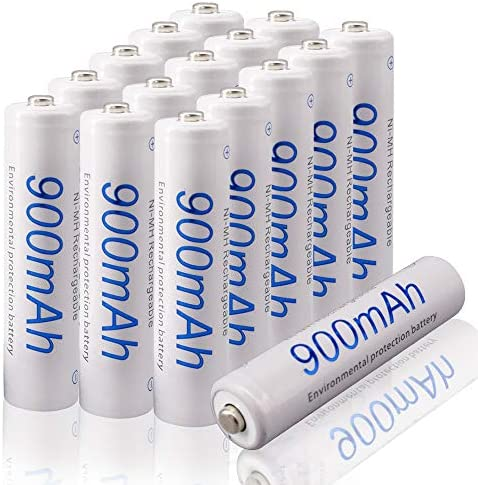 LJG8 AAA Rechargeable Battery 1.2V Nimh 900mAh High-Capacity Batteries 16 Pack