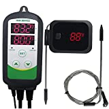 INKBIRD Brewing and Grilling Thermostats Set ITC-308 Temperature Controller IBT-2X BBQ