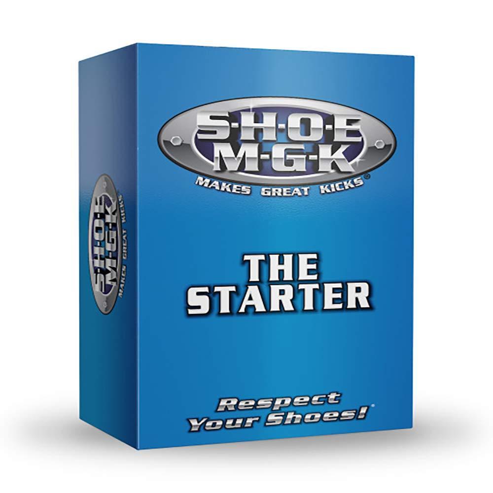 SHOE MGK - Shoe Cleaner - Starter Kit - (1) 8 oz. Cleaner & Conditioner - (1) Brush