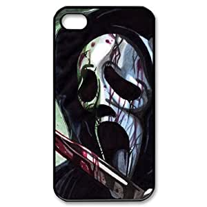 HXYHTY Cover Custom Scream Phone Case For Iphone 4/4s [Pattern-1]