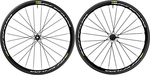 Mavic Ksyrium Disc Wheelset - Clincher Black, 6-Bolt, Shimano/SRAM 11-Speed