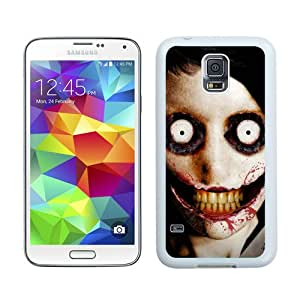 Hot Sale Samsung Galaxy S5 I9600 Case ,Beautiful Unique Designed Case With jeff the killer White Samsung Galaxy S5 I9600 Cover