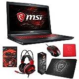 MSI GL72M 7RDX-800 (i7-7700HQ, 8GB RAM, 128GB SATA SSD + 1TB HDD, NVIDIA GTX 1050 2GB, 17.3' Full HD, Windows 10) Gaming Notebook