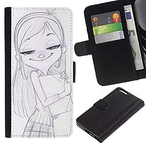 JackGot ( Disegno ) Apple (5.5 inches!!!) iPhone 6+ Plus / 6S+ Plus la tarjeta de Crédito Slots PU Funda de cuero Monedero caso cubierta de piel