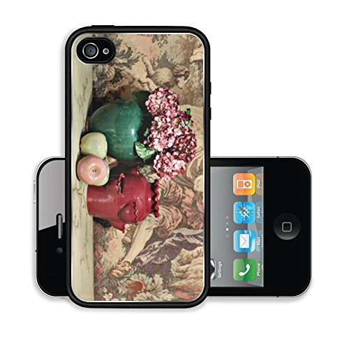 iPhone 4 4S Case flowers planters apples Image 15482448530