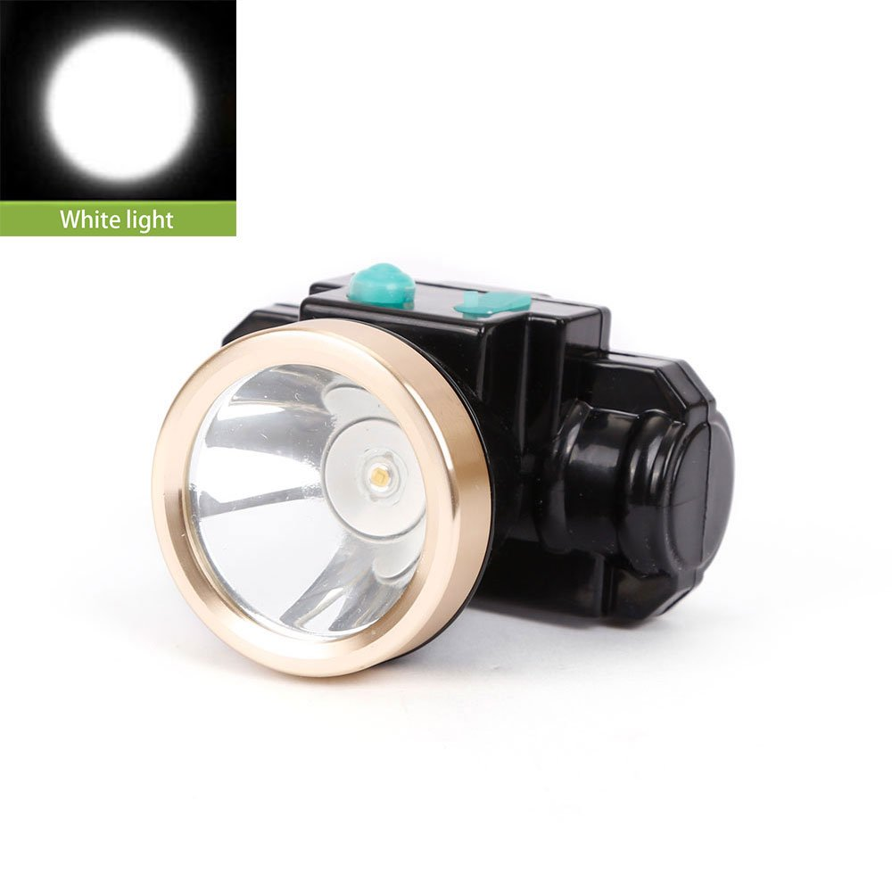 3w Mini Miners Lamp Led Headlamp Lithium Battery Cordless