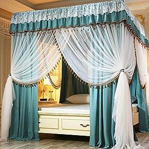 Zanzariera Principessa Quattro montante d'angolo assestamento decorazione della tenda del baldacchino del reticolato… 7 spesavip