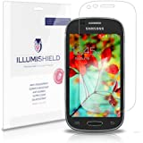 iLLumiShield - Samsung Galaxy Light Screen Protector Japanese Ultra Clear HD Film with Anti-Bubble and Anti-Fingerprint - High Quality (Invisible) LCD Shield - Lifetime Replacement Warranty - [3-Pack] OEM / Retail Packaging