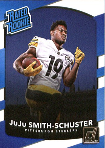 2017 Donruss #326 JuJu Smith-Schuster Pittsburgh Steelers Rated Rookie Football Card