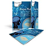 PatchMD - Focus Plus Topical Patch - Maintain Calm Focus, Help Boost Memory, Boost Task Completion, Supports Brain Health & Function, Non-Stimulant - 30 Day Supply