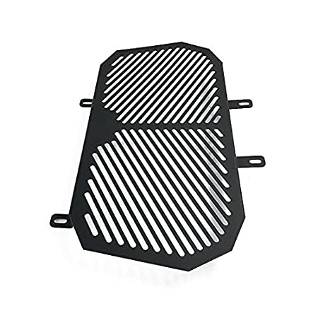 Black FATExpress Motorcycle Stainless Steel Radiator Guard Grill Cover Oil Cooler Bezel Protector Grille for 2012-2016 KTM Duke 125 200 SX XCW 2013 2014 2015 12-16