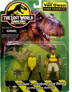 Jurassic Park The Lost World Nick Van Owen