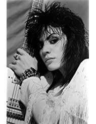 Joan Jett Cool Punk Rock Image With Guitar 24x36 Poster