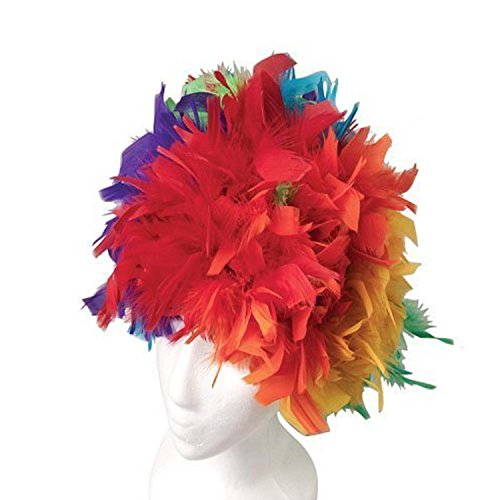 us-toy-one-feather-wigs-costume-multicolor-2-pack