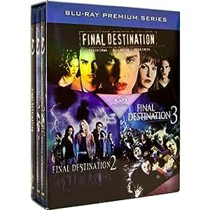 Final Destination Thrill-ogy (Final Destination 1, 2 & 3 / Destination Ultime: La Trilogie) [Blu-ray] (Sous-titres français) [Import]
