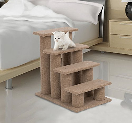Cheap PawHut Multi-Level Scratching Post Cat Tree Climber