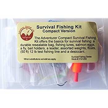 Best glide ase survival fishing kit standard for Survival fishing games
