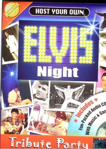 Host your own elvis night tribute party kit -