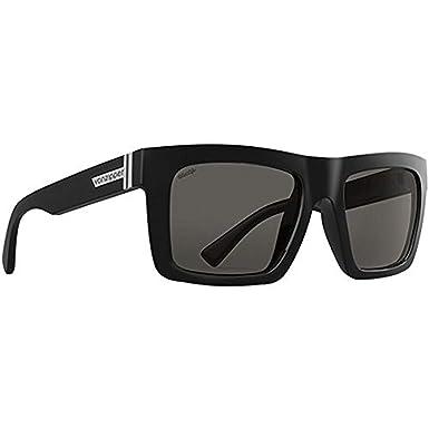 d4a4e49109 Von Zipper Donmega Wildlife Polarized Sunglasses-Black Gloss-Vintage Grey