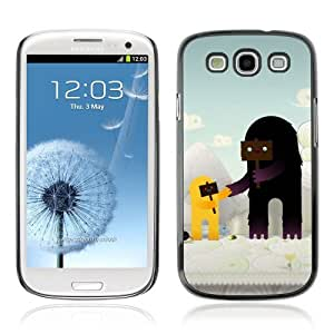 YOYOSHOP [Cute Characters ] Samsung Galaxy S3 Case
