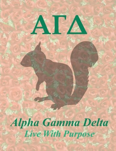 Read Online Alpha Gamma Delta: Lined Notebook - Composition Book - 8.5 X 11 Paper - Wide Ruled - 100 Pages ebook