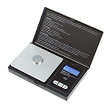 Flexzion Digital Jewelry Scale Diamond Gold Silver Coin Gems Weight Balance Tool 100g x 0.01g Mini Pocket Portable High Precision For Personal Commercial Use