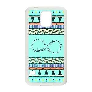 Stylish Aztec Tribal Design Plastic Case for Samsung Galaxy S5