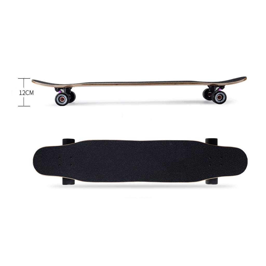 GJF Langes Brett Bilateral Inclined Skateboard Skateboard Skateboard Fähigkeiten Erwachsene Straße Dance Board Männer und Frauen Jugendliche Anfänger Street Skateboard B07QCJKGQJ Skateboards Berühmter Laden 0dbcb1