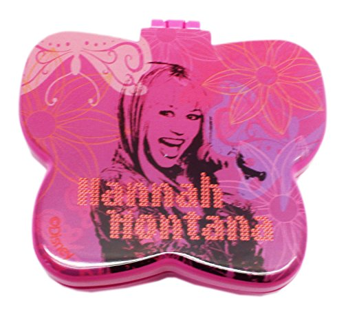 Disney's Hannah Montana Butterfly Shaped Mini Hairbrush/Mirror Combo