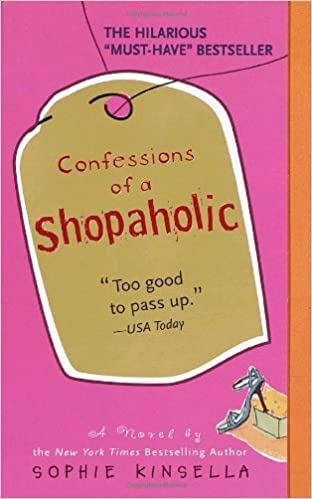 Image result for confessions of a shopaholic book cover amazon
