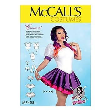 Unbekannt McCall \'s Damen Schnittmuster 7455 Skirted Balletttrikot ...