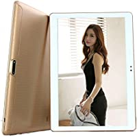 Bestenme 10 inch Tablet Octa Core 1280X800 IPS Bluetooth RAM 4GB ROM 64GB 8.0MP 3G MTK6592 Dual sim card Phone Call Tablets PC Android 5.1 Lollipop GPS electronics 9 10 Gold