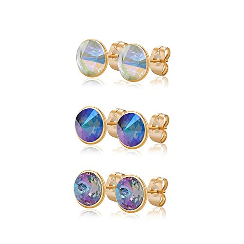 ec315bd0d Xuping Halloween Luxury Round 2 Pairs\ 3 Pairs Stud Earrings Crystals from  Swarovski Fashion Jewelry
