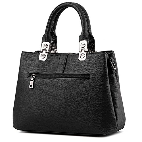 pelle Closure Shoulder Vintage Women Handbags in Leather Women Pu Handbag Myleas wqfPRf