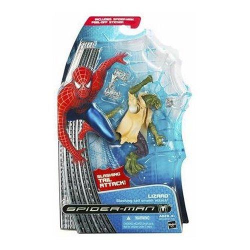 Spider-Man Movie Classic 2 Action Figure Lizard. Slashing tail smash attack!