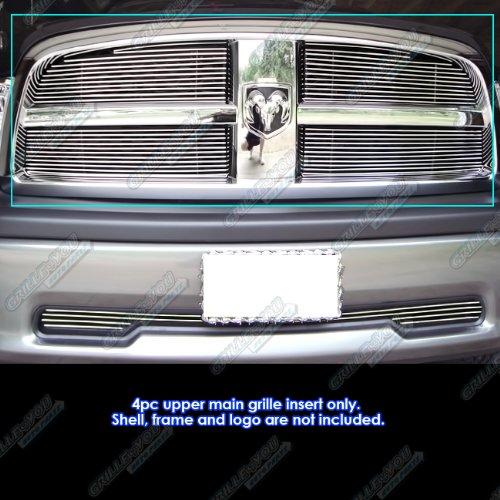Aps 2009 2012 Dodge Ram 1500 Pickup Billet Grille Grill Insert S18 A31666d
