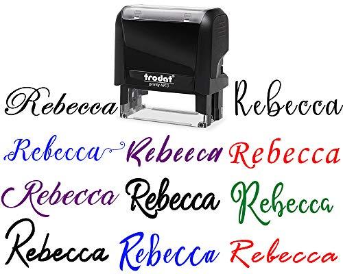 Script Fonts Choose Signature Customizable product image