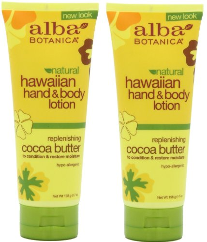 Alba Botanica Hawaiian Hand & Body Lotion, Cocoa Butter, 7 Oz / 200 Ml by Alba Botanica - Hawaiian Cocoa Butter