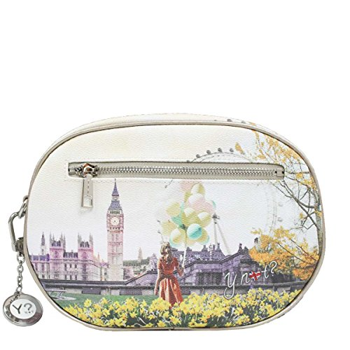 Borsa Y Not tracollina London flower j 378