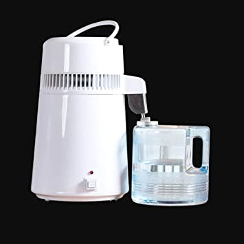 ZLXLX Filtro de calidad del agua Máquina de agua destilada, acero inoxidable 304, el mejor purificador de agua provisto Nuevo modelo Superior 2020, blanco,Blanco: Amazon.es: Bricolaje y herramientas