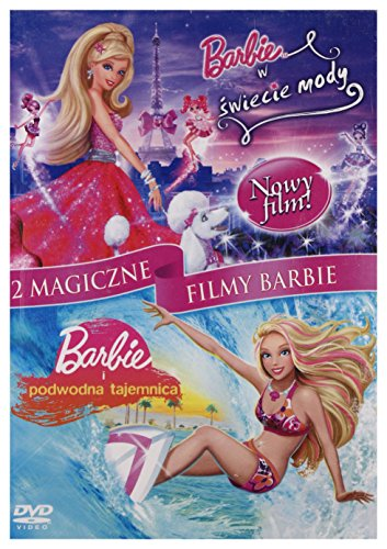 Barbie in a fashion fairytale / Barbie in A Mermaid Tale (BOX) [2DVD] (English audio)