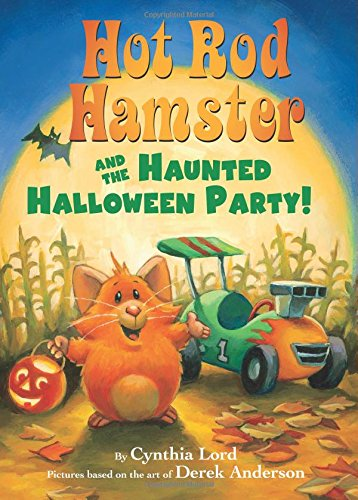 Hot Rod Hamster and the Haunted Halloween Party! (Hot Rod Hamster) (Scholastic Reader Level 2: Hot Rod Hamster)]()