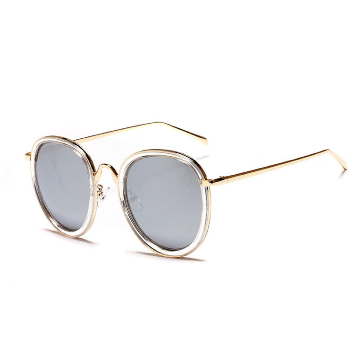 WKAIJC Retro Modisch Stilvoll Personalisiert Bequem Anspruchsvoll Kreativ Farbfilm Sonnenbrillen,B