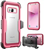 i-Blason Galaxy S8 Plus Case, [Armorbox] [Full Body] [Heavy Duty Protection ] Shock Reduction/Bumper Case Without Screen Protector Samsung Galaxy S8 Plus 2017 Release (Pink)