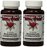 Cheap 2 Pack -Kroeger Wormwood Combination, 100 V-Cap