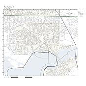 Amazoncom Zip Code Wall Map Of Port Charlotte Fl Zip Code Map