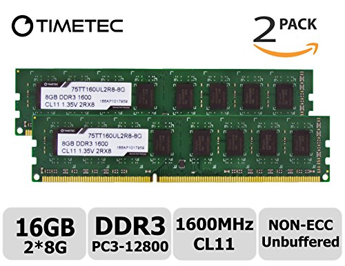 NEW 16GB 2X8GB Memory PC3-12800 DDR3-1600MHz for Acer Predator G3-605
